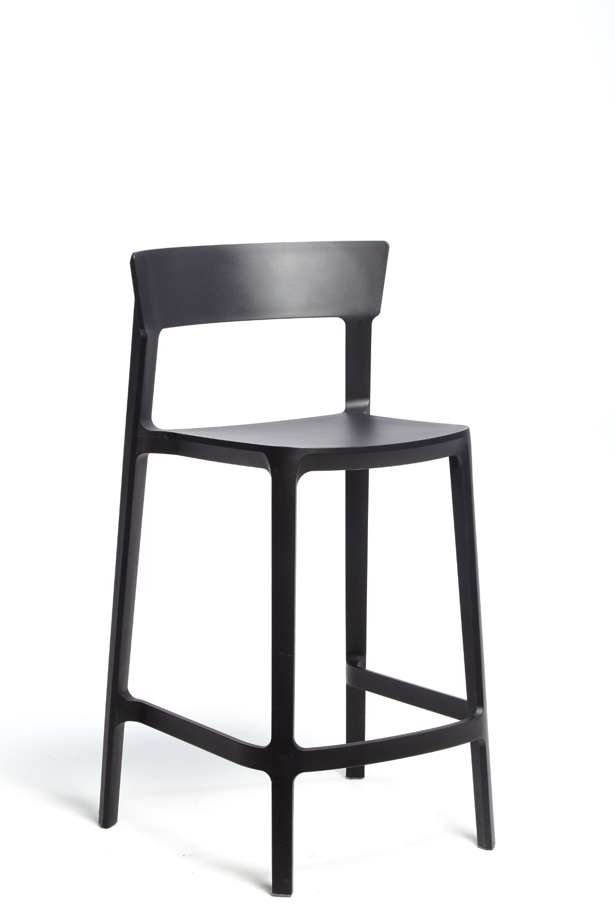 Calligaris Black Skin Stool