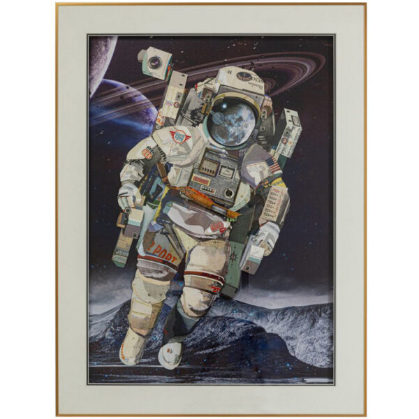 Astronaut Picture Frame