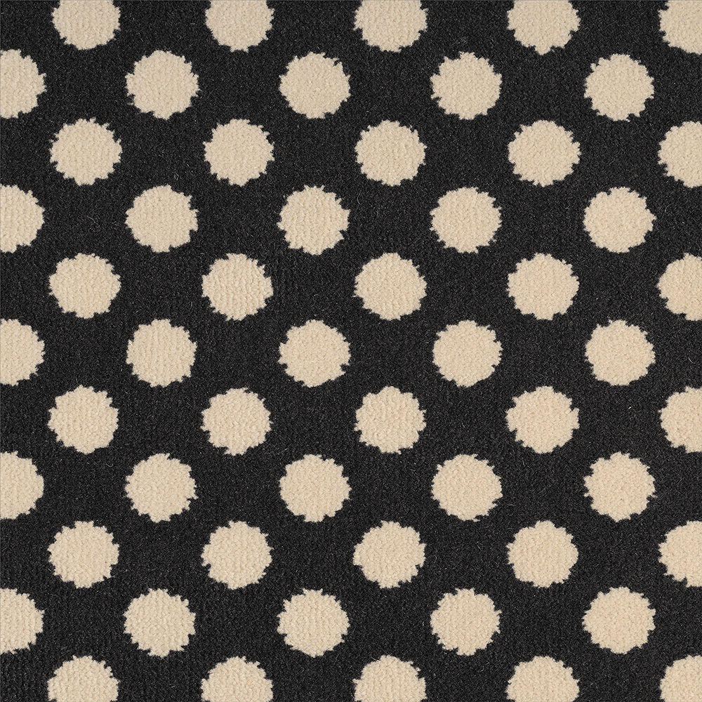 Quirky Spotty - Black