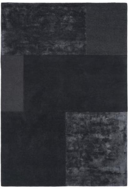 Tate Tonal Textures Rug Charcoal