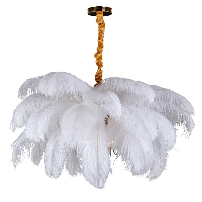Anisha White Hanging Lamp
