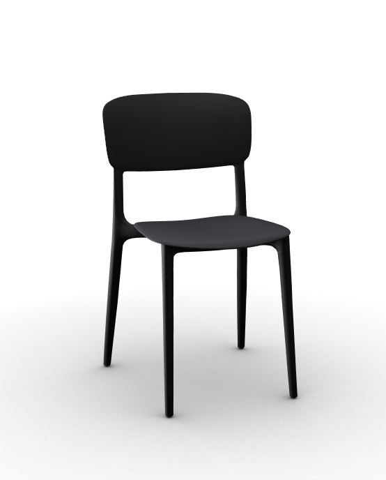Calligaris Liberty Chair Black