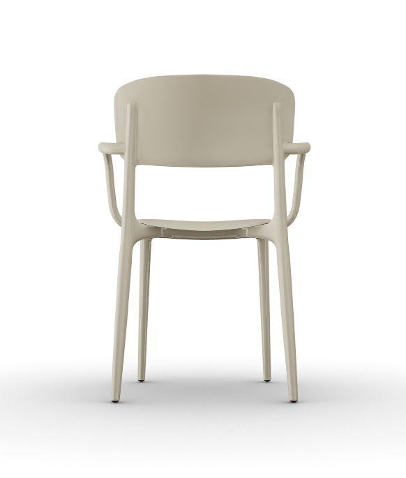 Calligaris Liberty Arm Chair - Matt Hemp