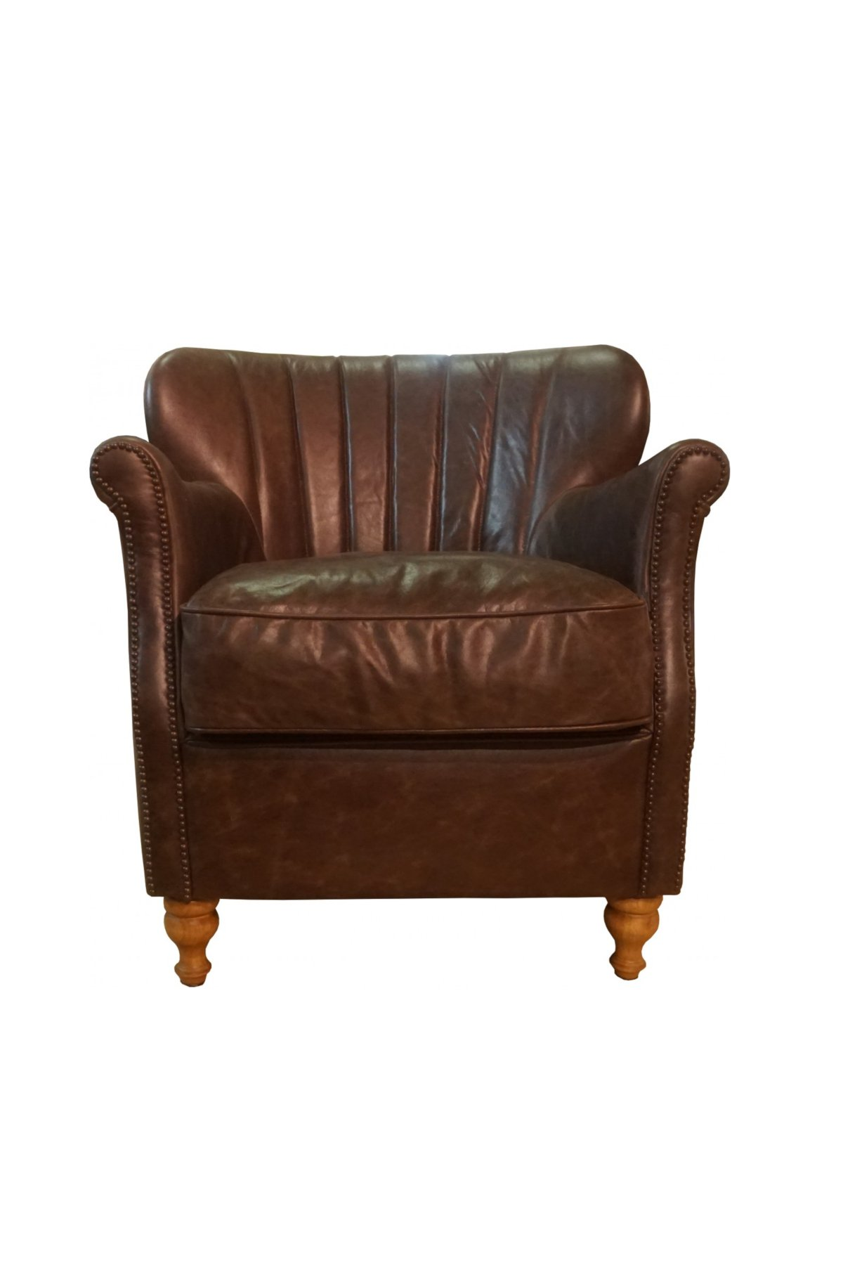 Percy Chair - Satchel Nutmeg