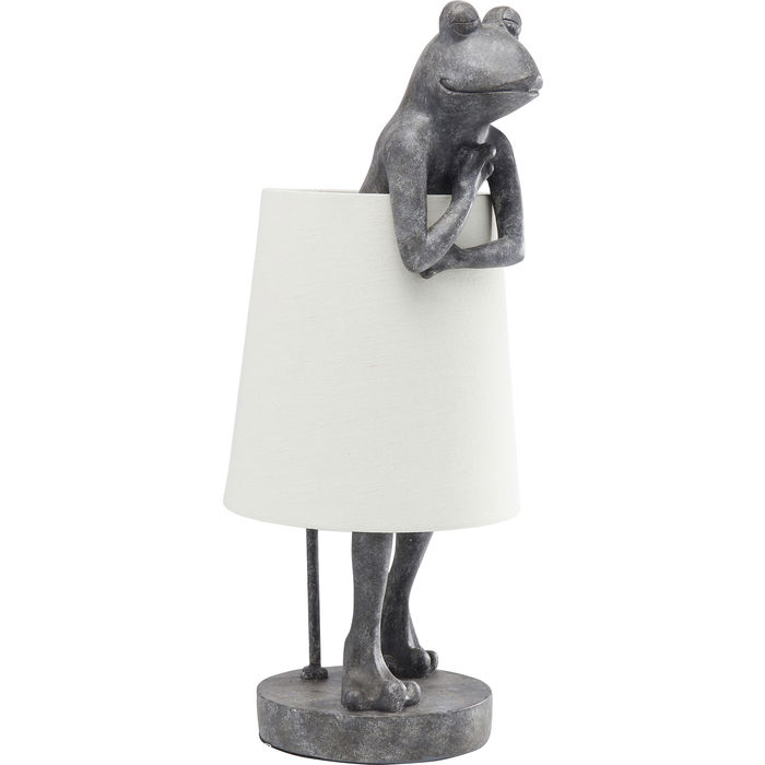Frog Table Lamp Grey