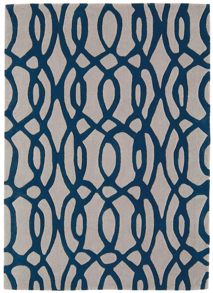 Matrix Rug Wire Blue