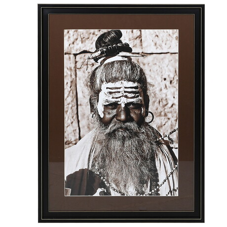 Painted Indian Warrior Picture