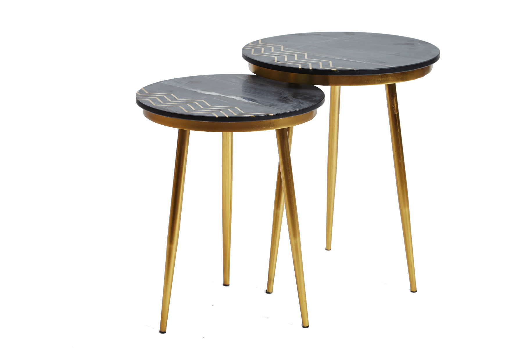 Emma Pair of Lamp Tables