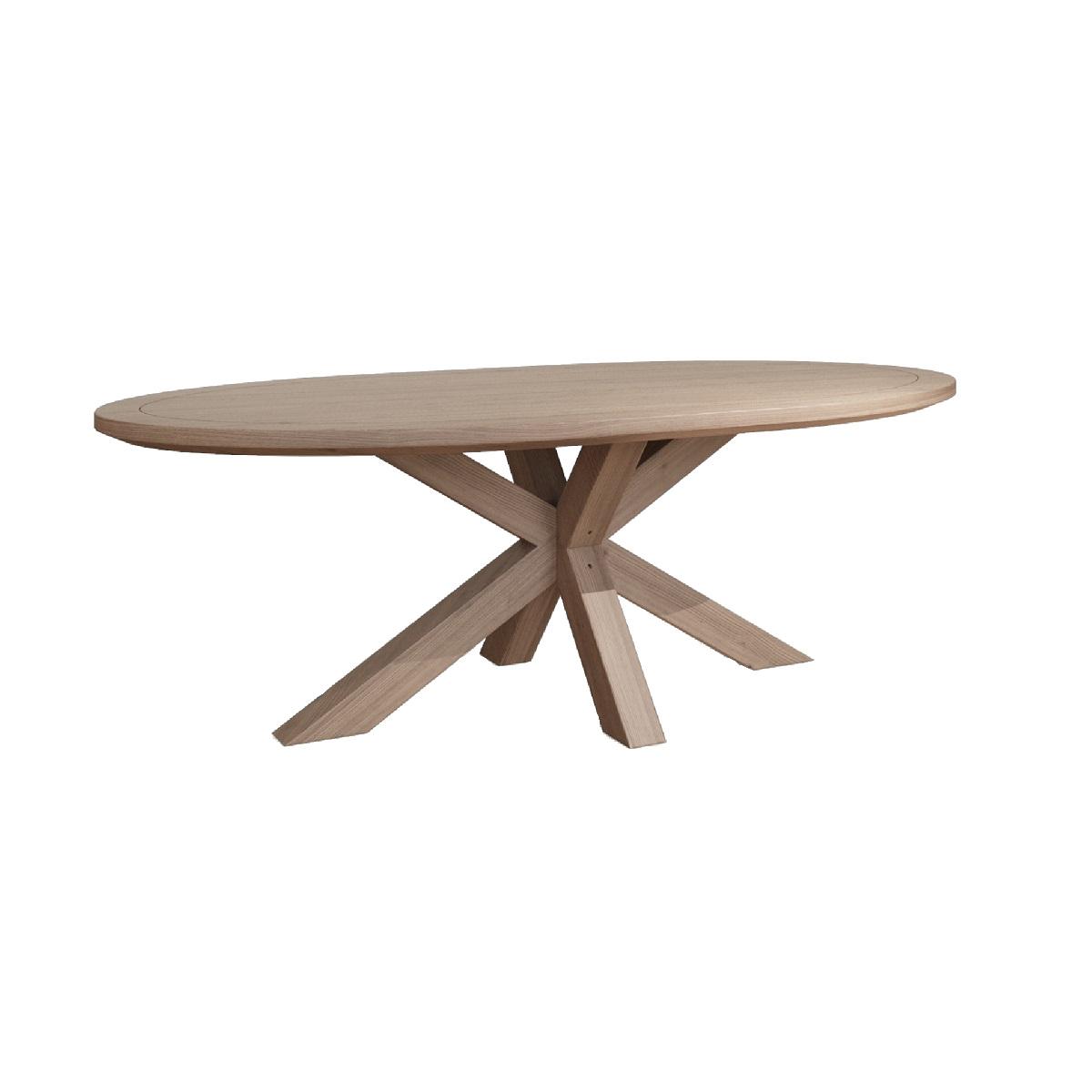 Hugo 2400 Large Oval Table