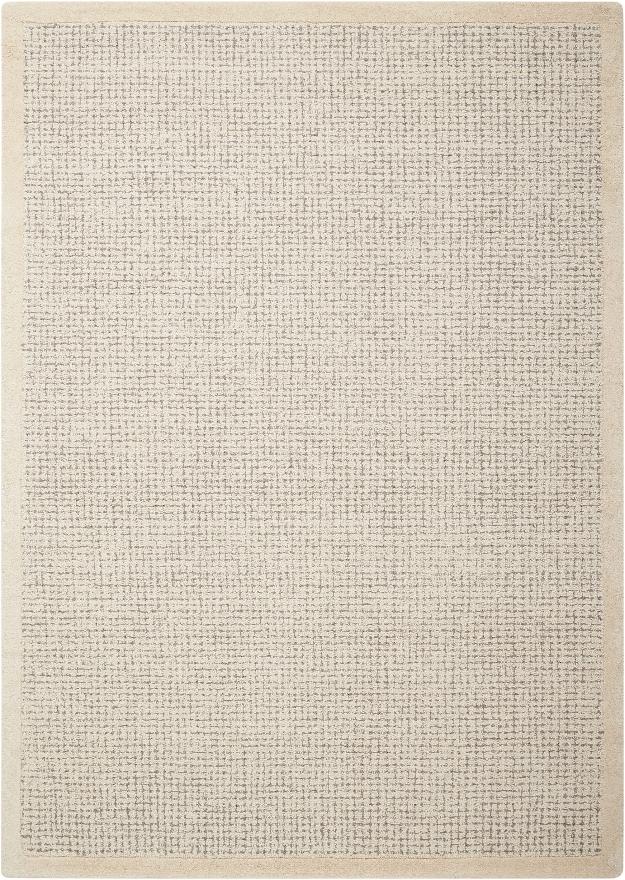 River Brook Rug KI809 Ivory/Grey