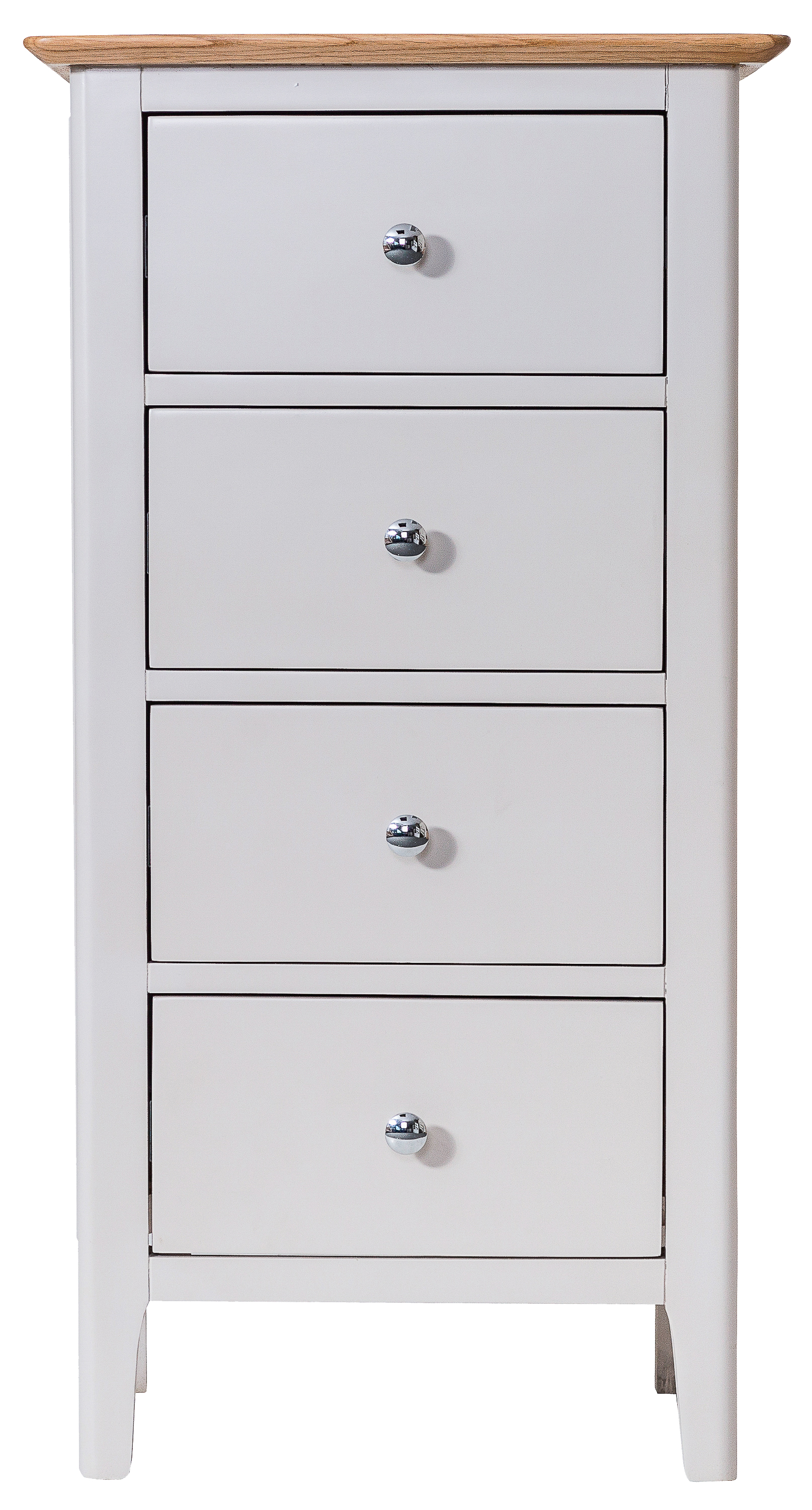 Oisin Narrow 4 Drawer Chest of Drawers
