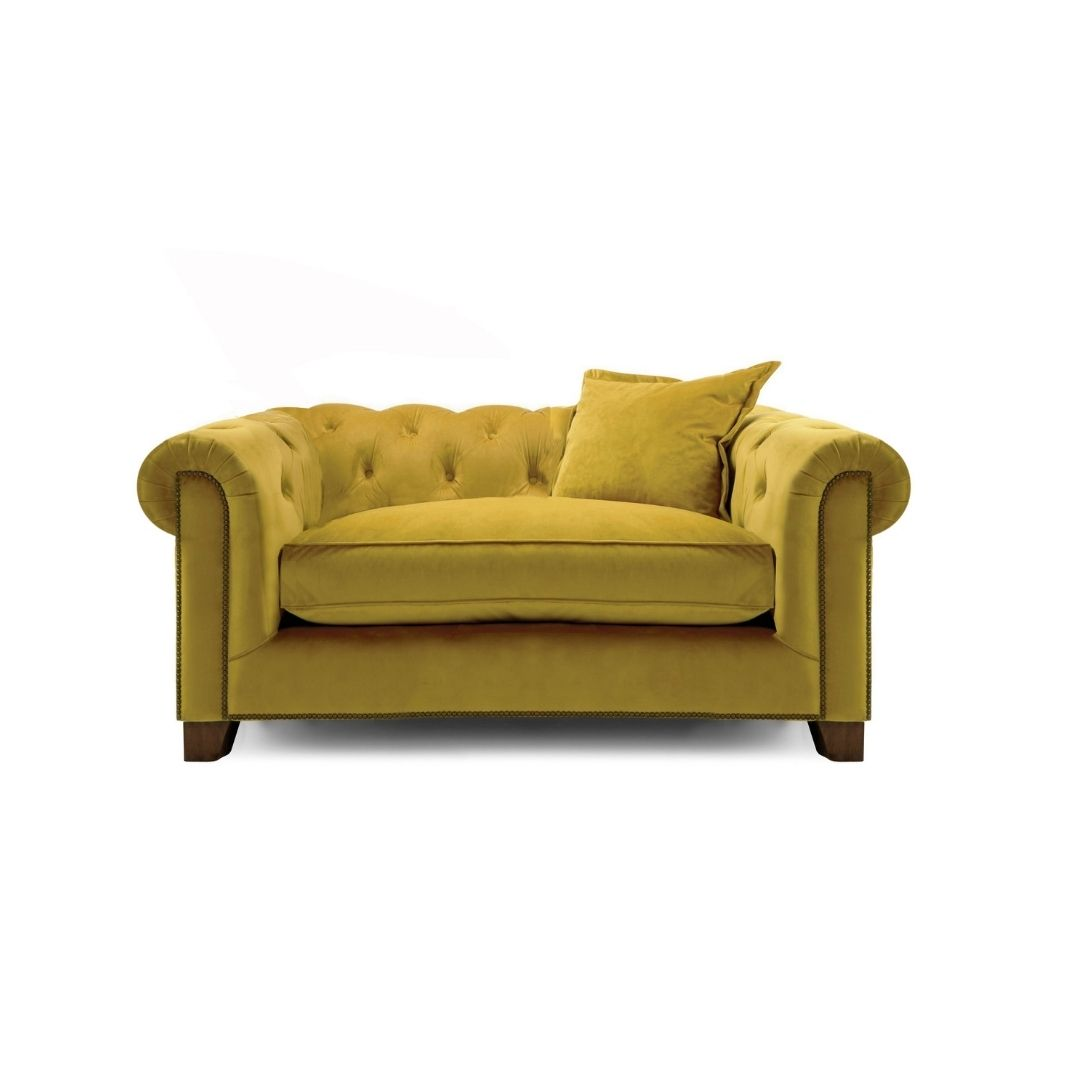Kennedy Cuddle Chair - Mustard