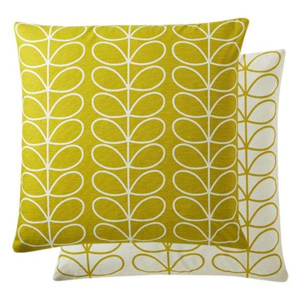 Small Linear Stem Cushion - Sunflower
