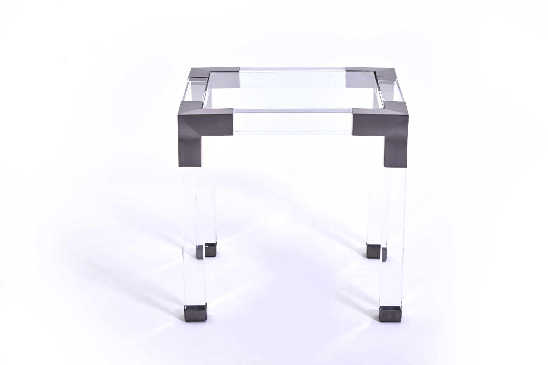 Gun Steel Side Table