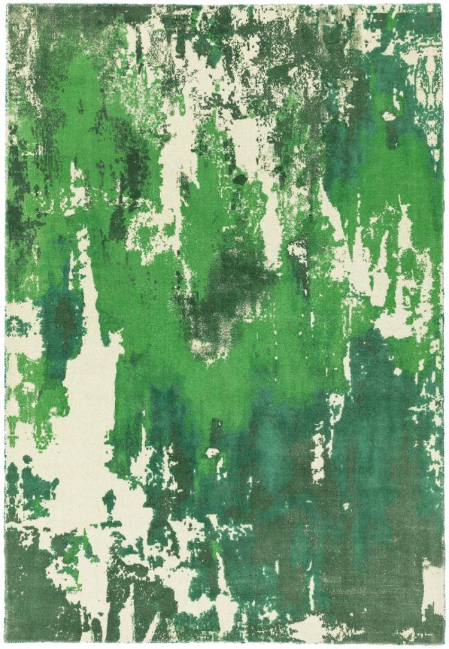 Saturn Rug Green