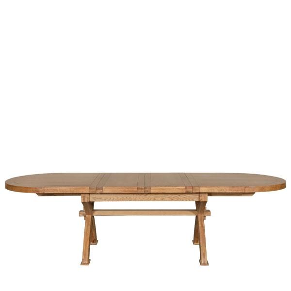 Kettering Oval X Leg Extending Dining Table