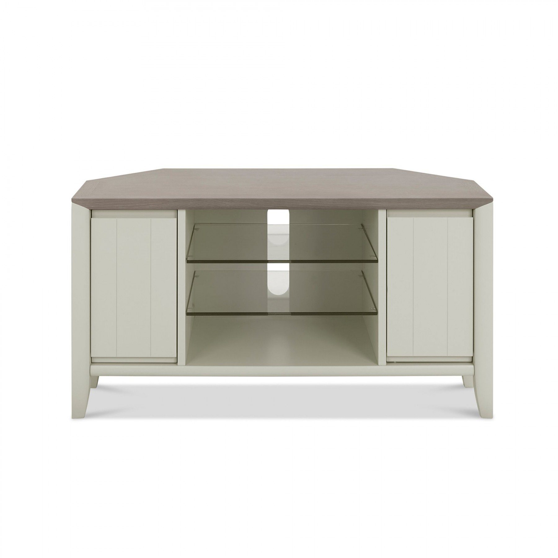 Oakley Grey Corner Entertainment Unit