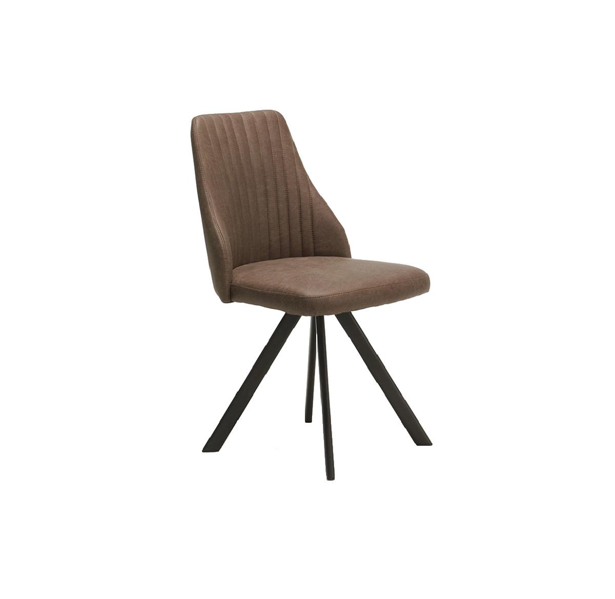 Lucas Brown Swivel Chair