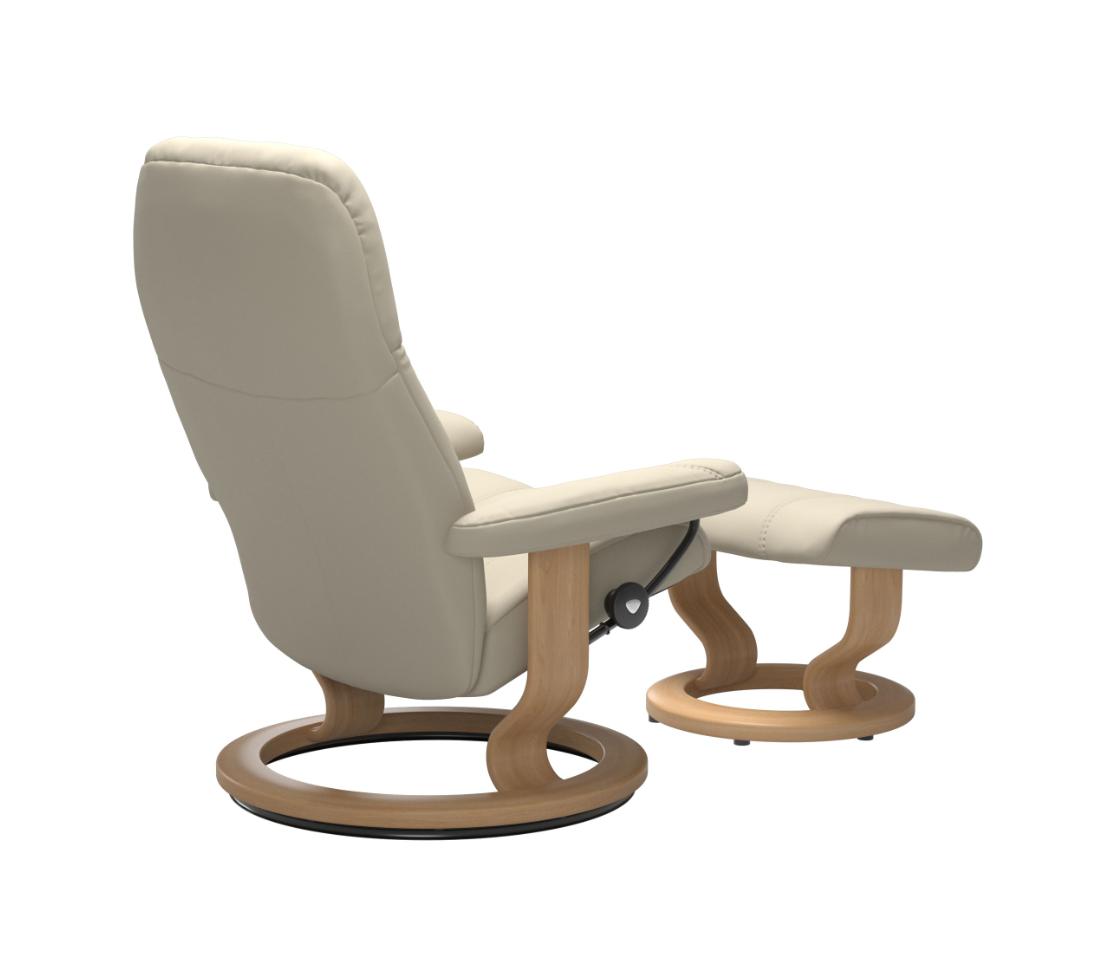 Stressless Consul Cream Large Recliner Chair