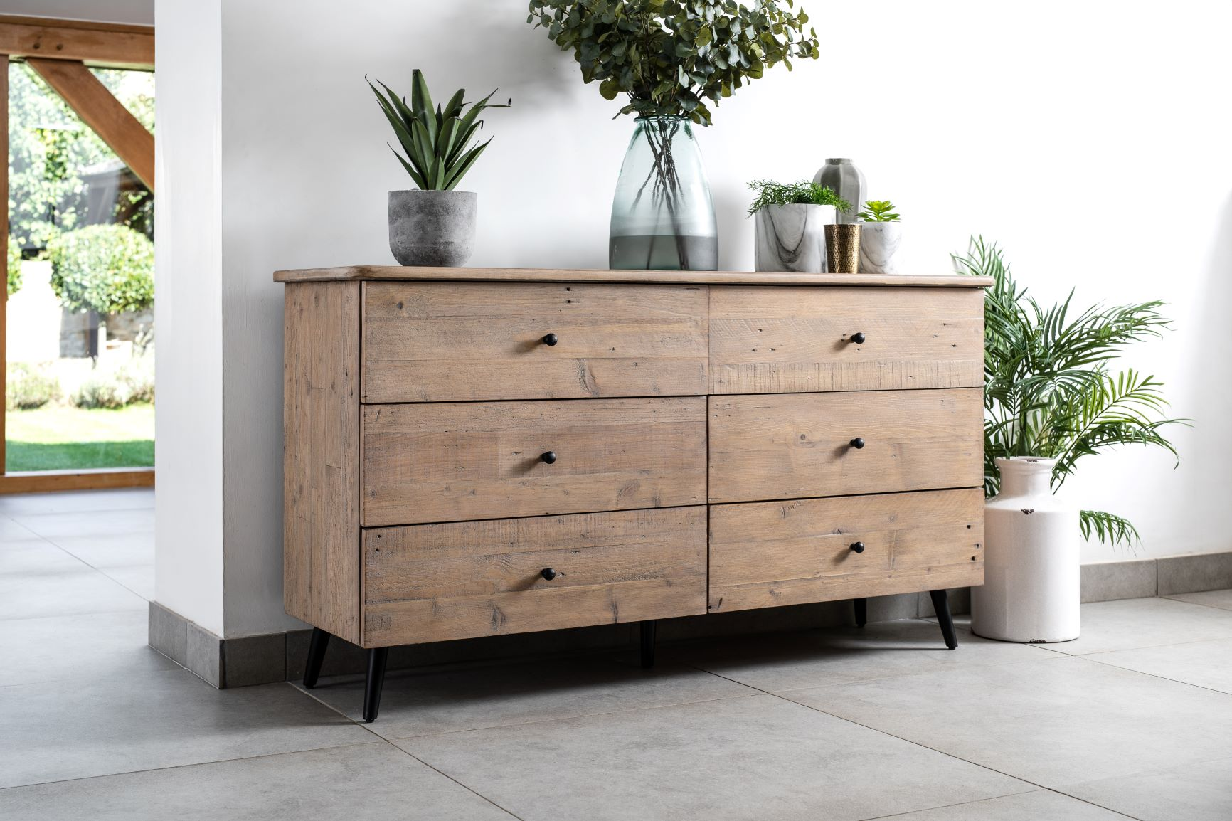 Palma 6 Drawer Wide Chest