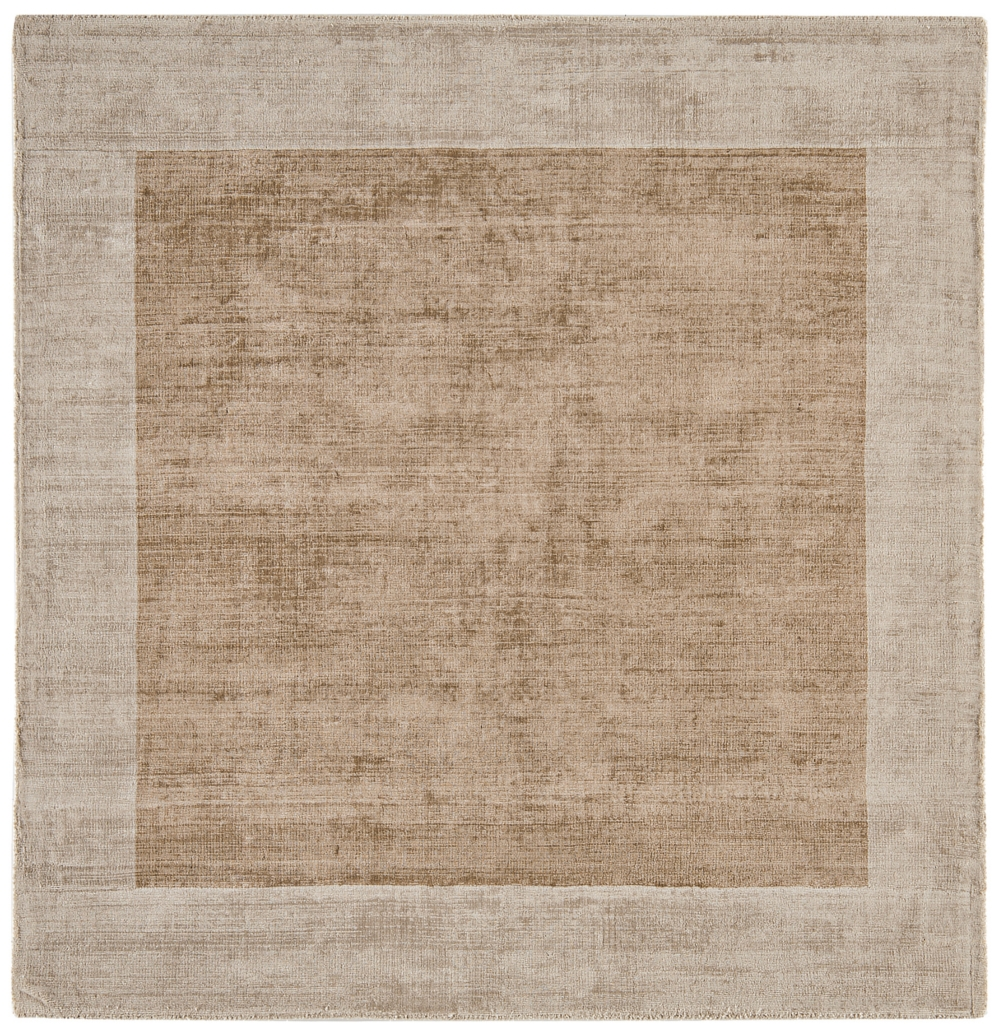 Blade Border Rug - Champagne Putty Square