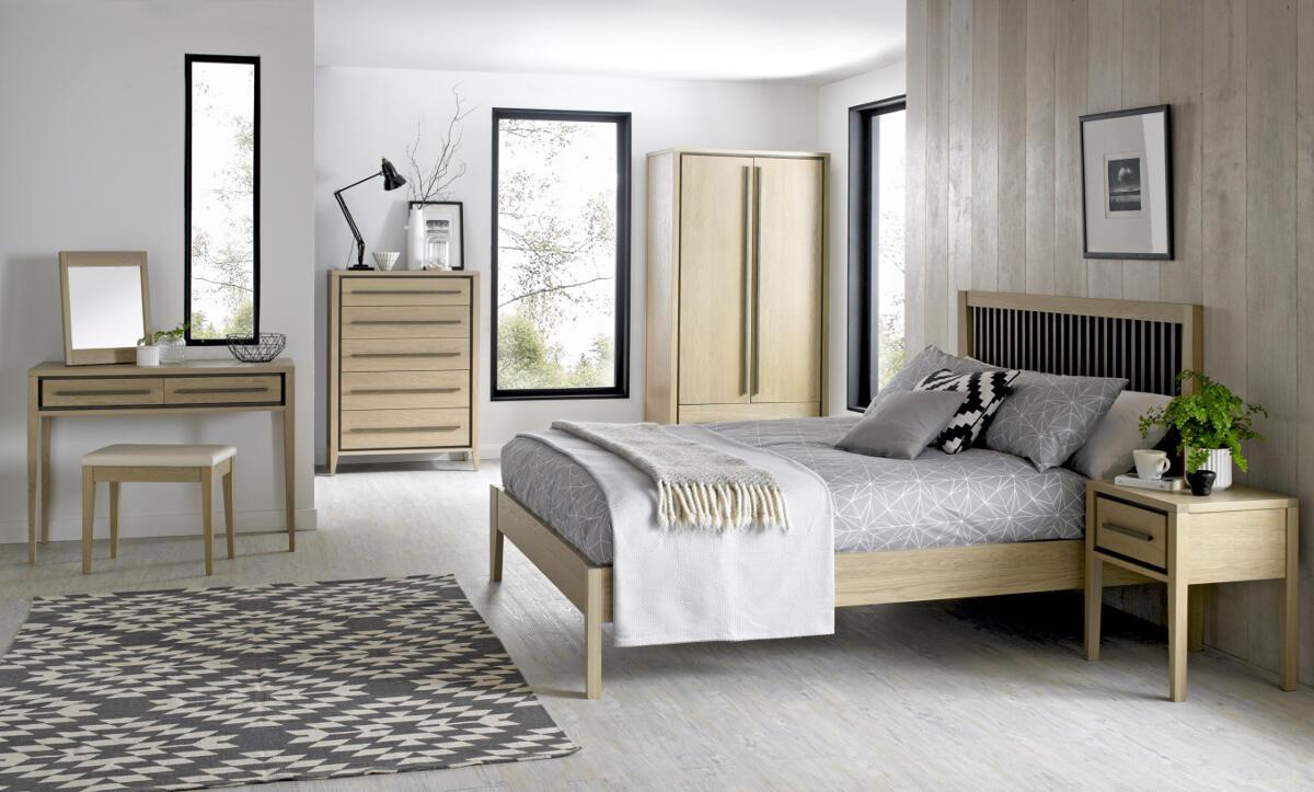 Lombardy Bedframe Plus 2 Bedsides - Bundle Deal