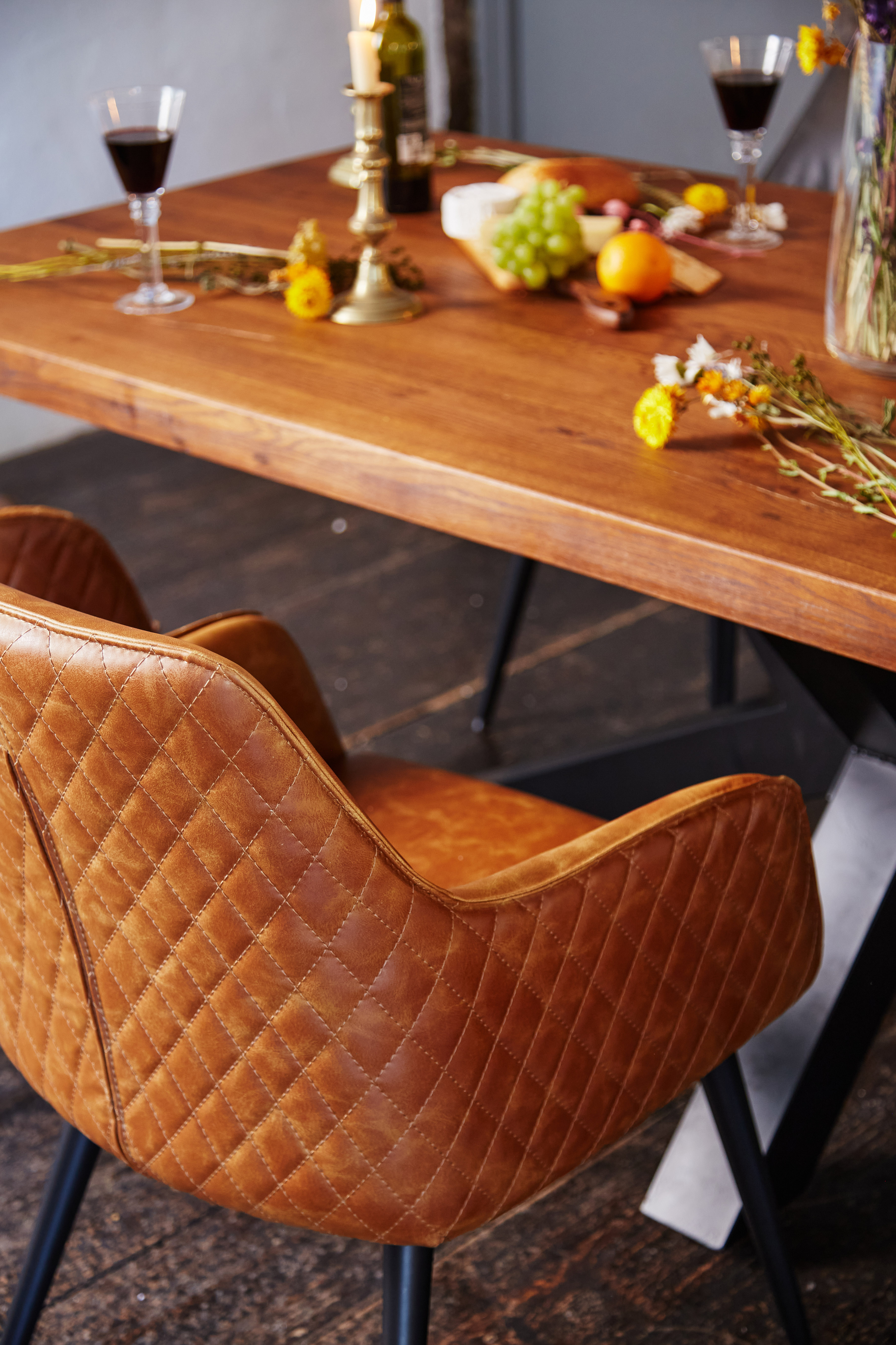 Winston Dining Chair Tan