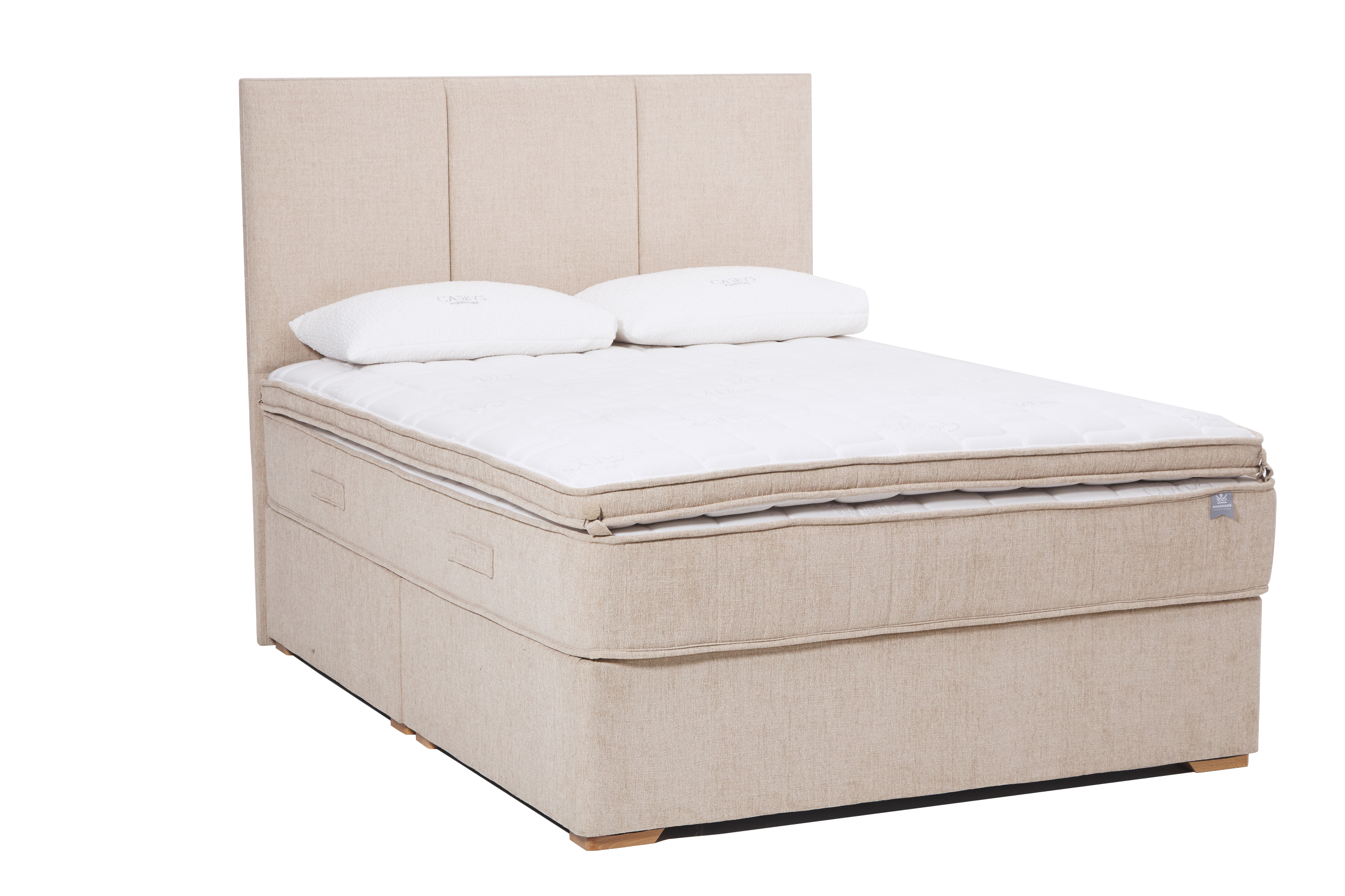King Koil Caseys Superior Support Plus 4.6ft Mattress and 2 Drawer Divan