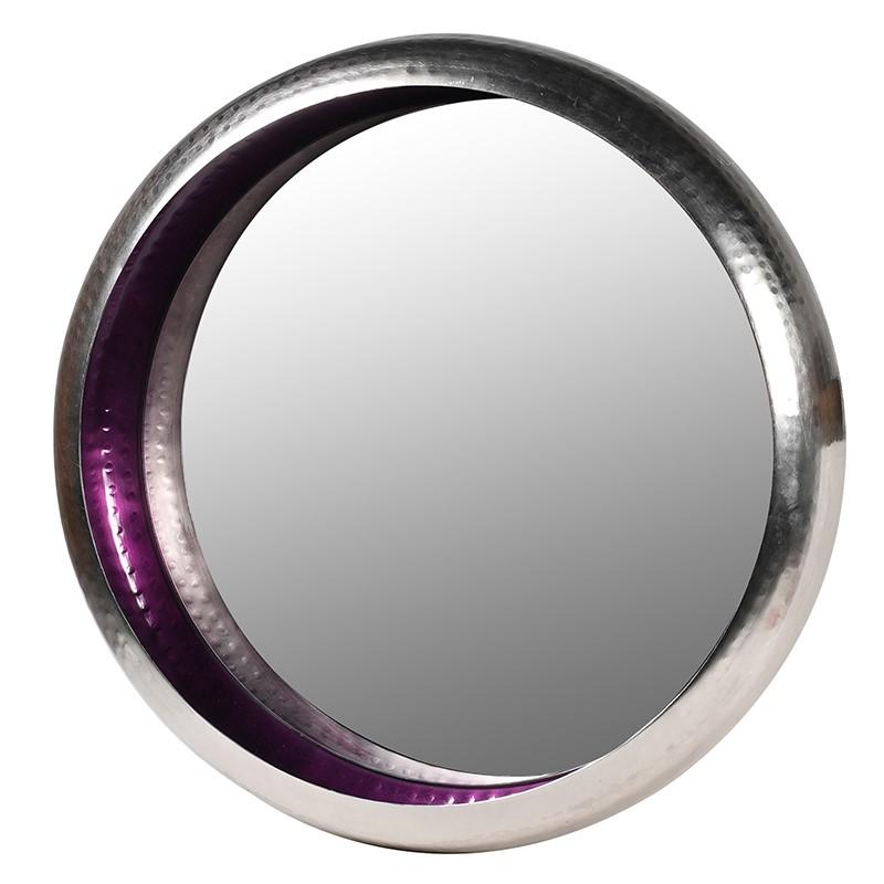 Purple Rim Mirror