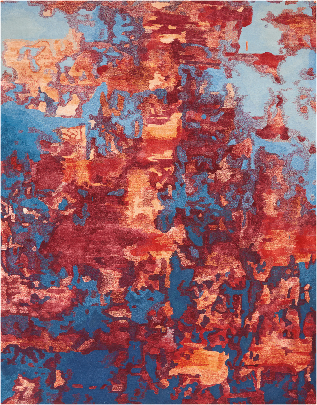 Prismatic Rug PRS13 Blue Flame