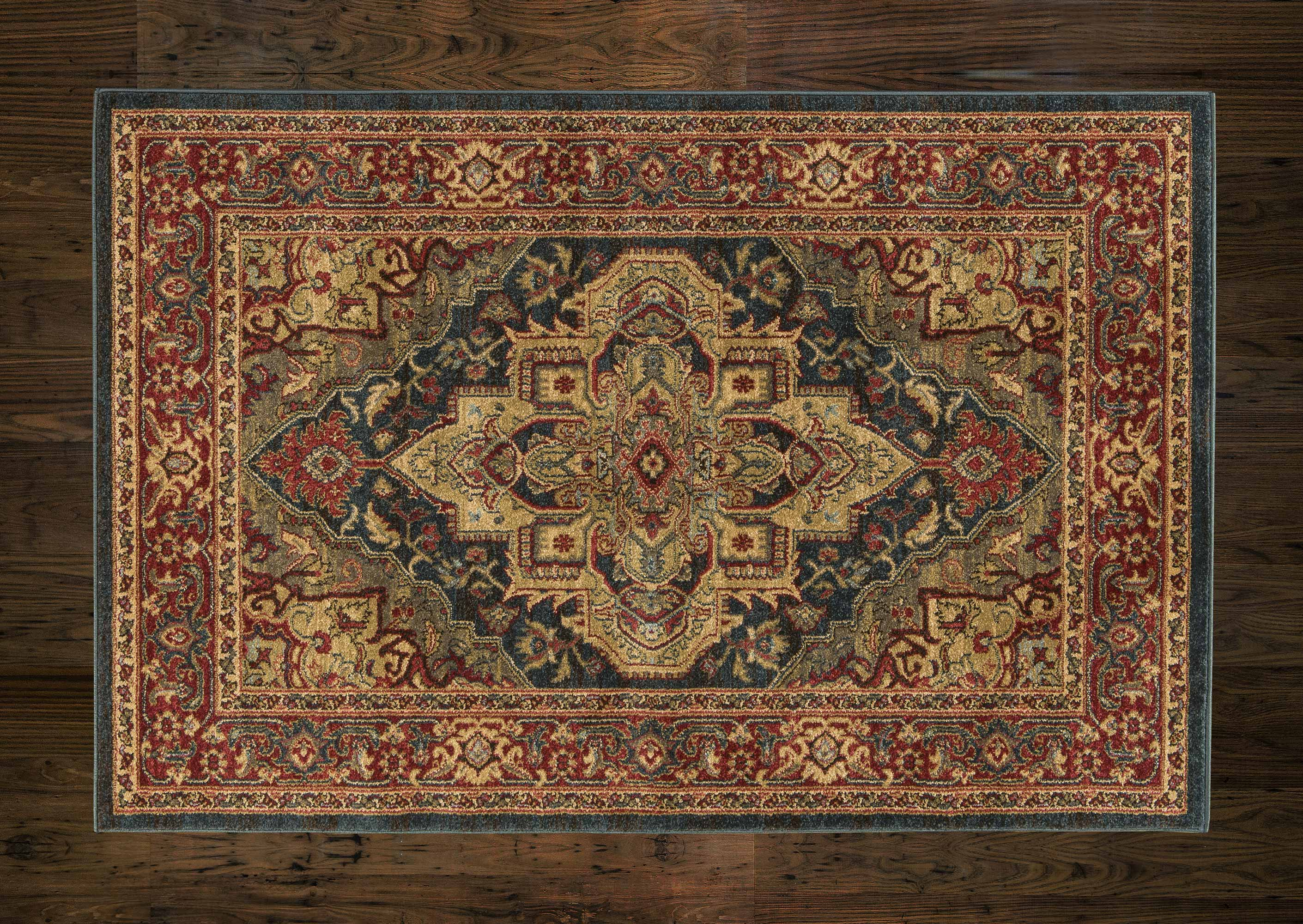 Ziegler Rug 8788 Dark Blue