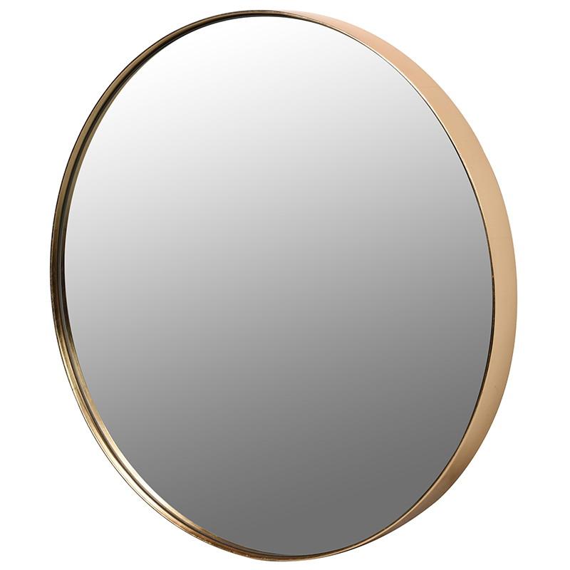 Gold Rim Mirror