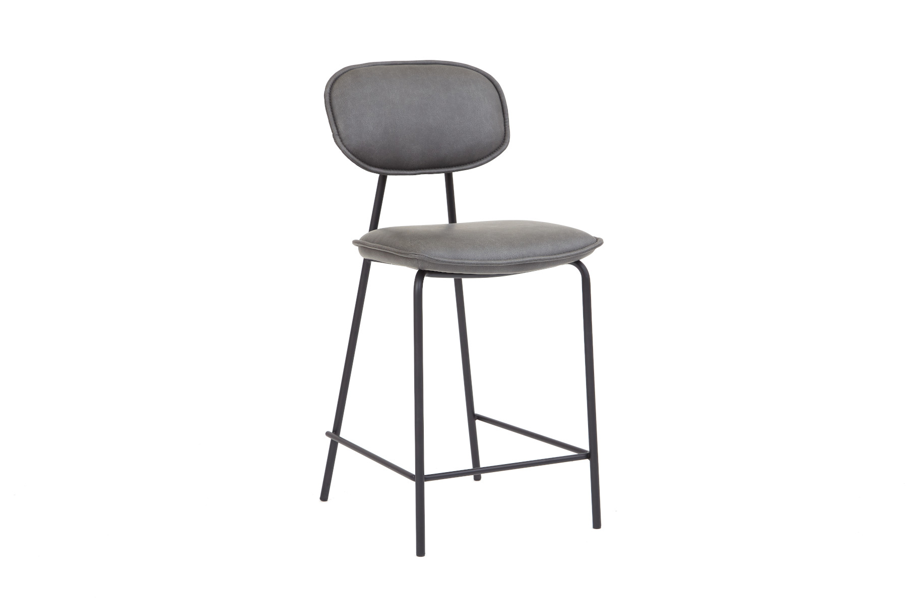 Logan Grey Bar Stool