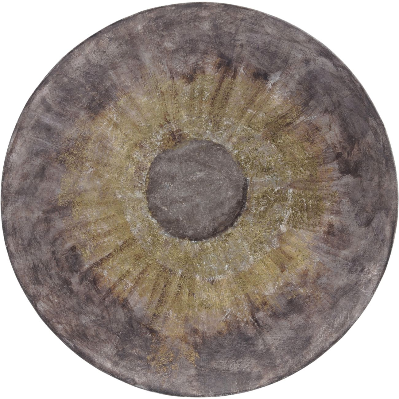 Abstract Iron Wall Disc