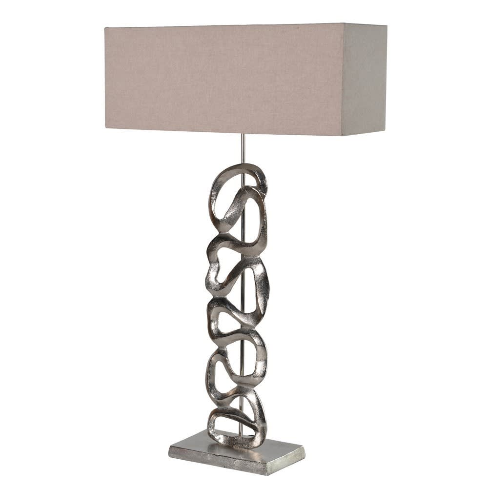 Aluminium Art Lamp W/Shade
