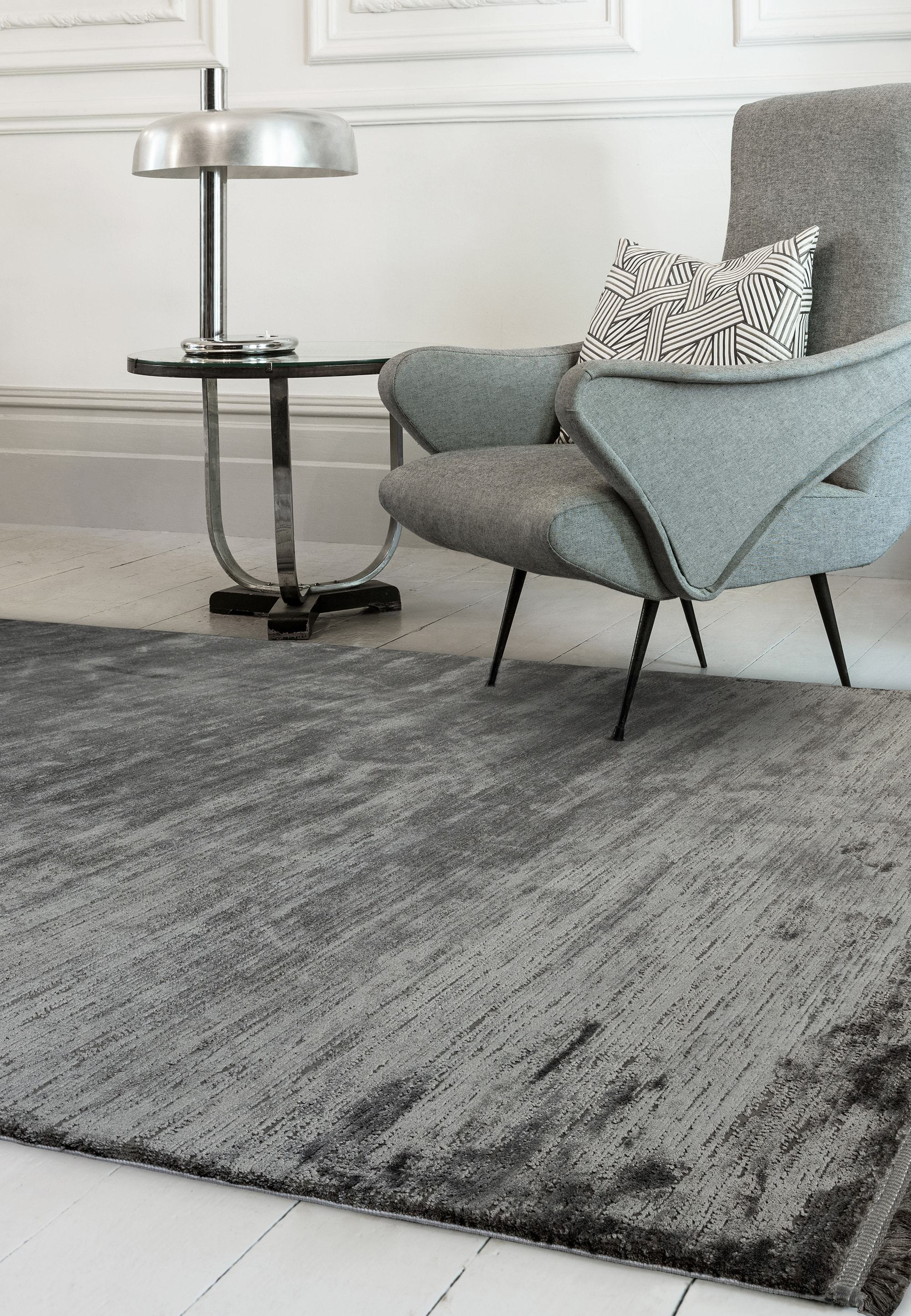Olympia Rug OL04 Anthracite