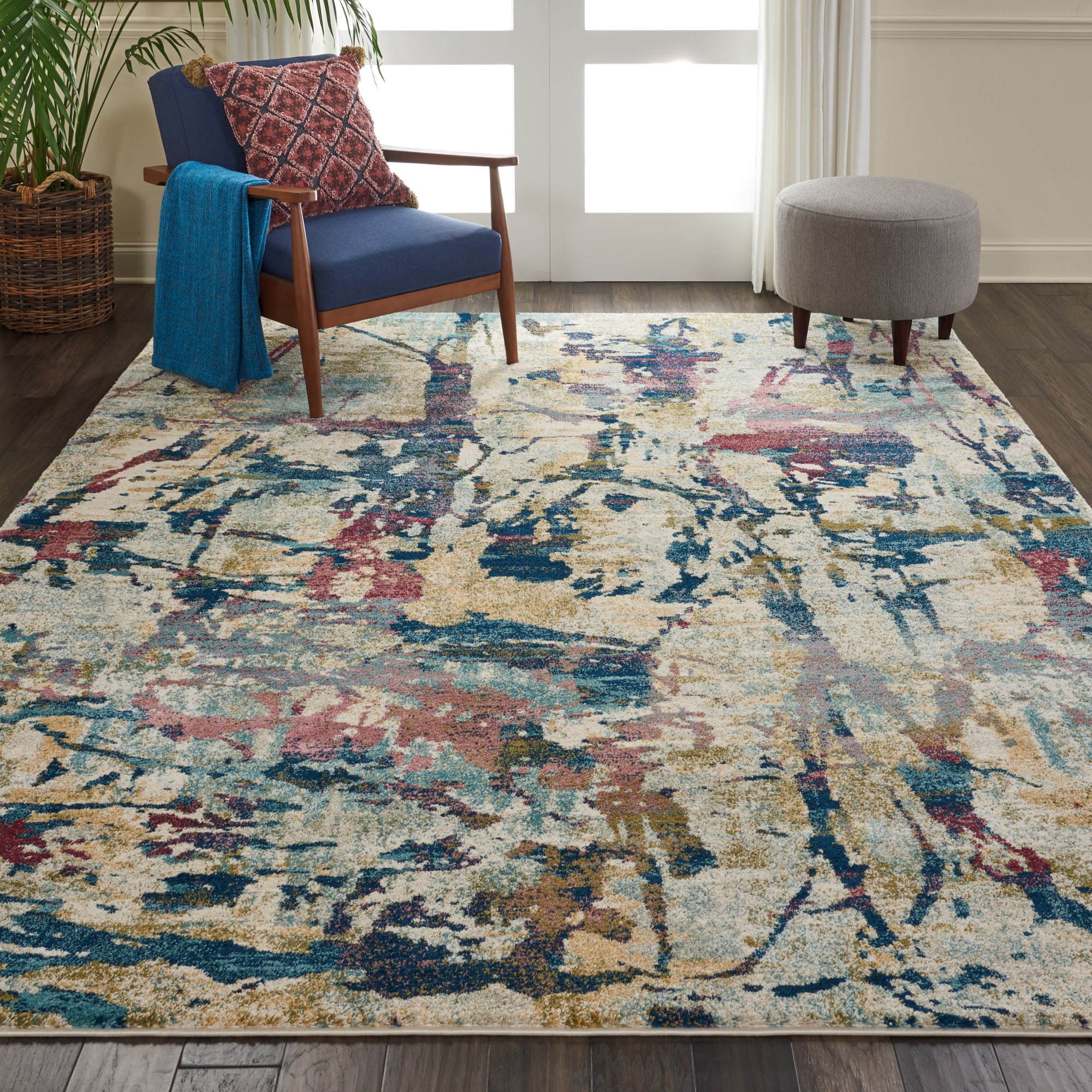 Fusion Rug FSS10 Cream/Multi