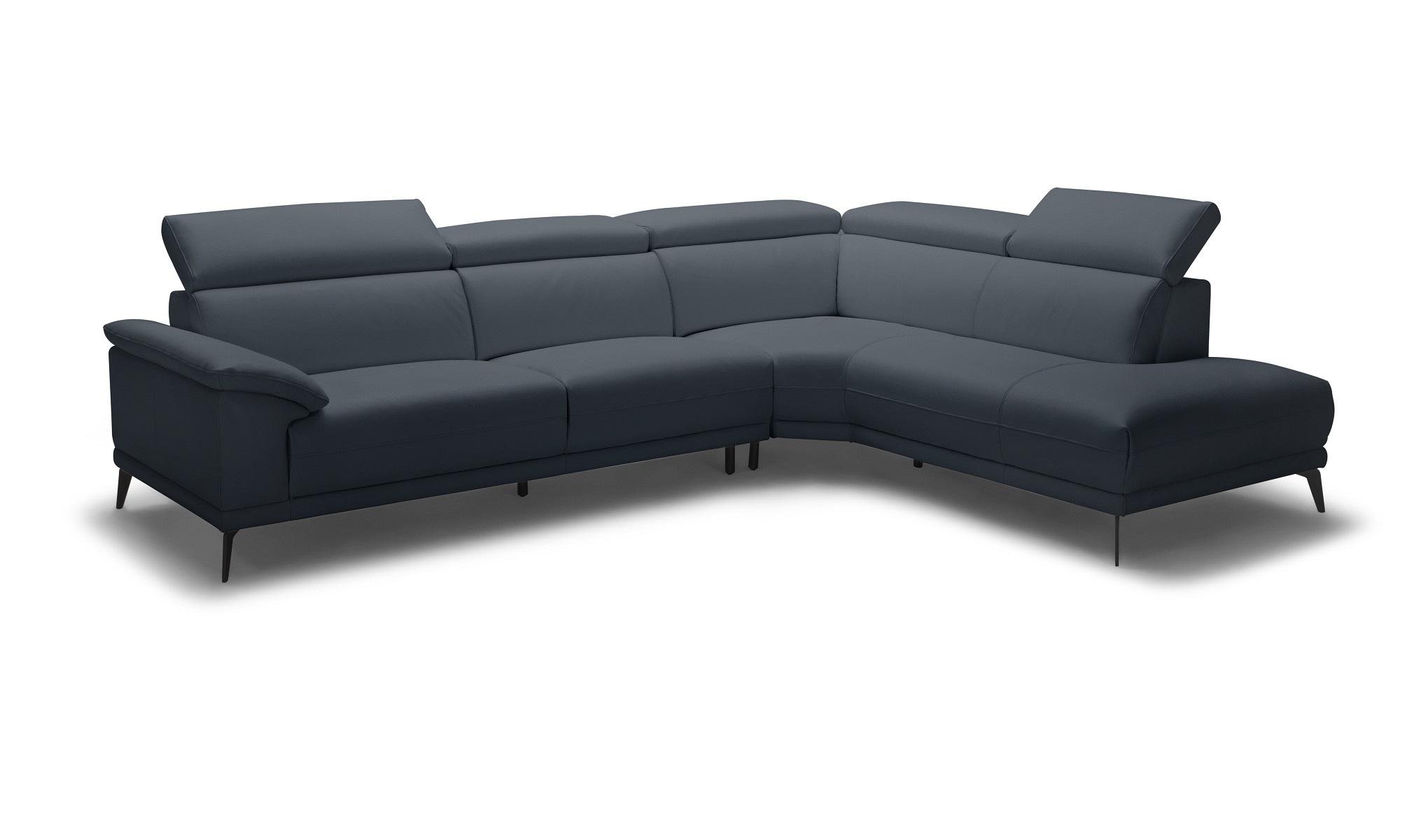 Montero RHF Corner Sofa - Navy