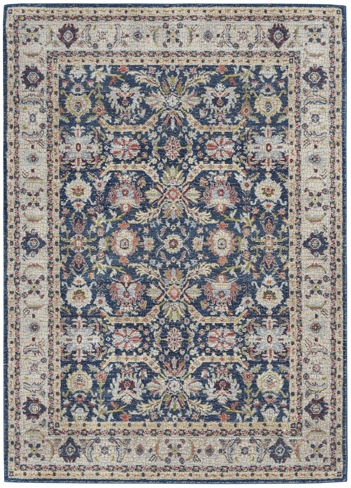 Ankara Global Rug ANR13 Navy/Multicolour
