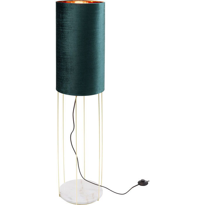 Lounge Turquoise Floor Lamp Cafeteria