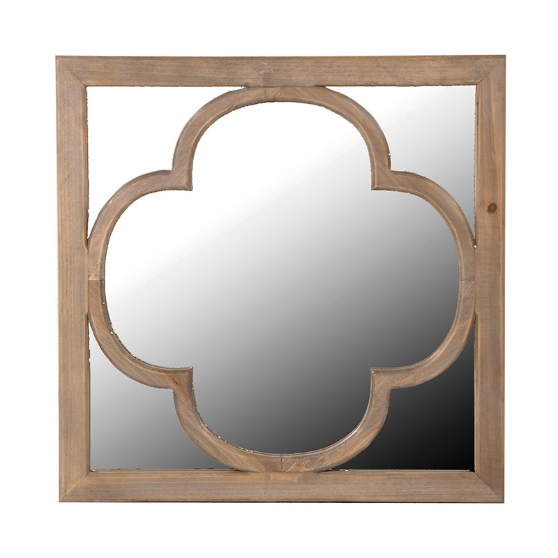 Boho Wooden Mirror
