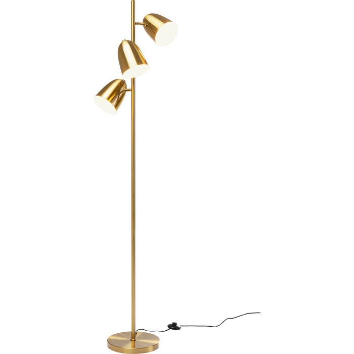 Triple Gold Head Floor Lamp