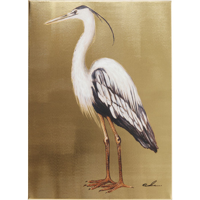Golden Heron Picture Right