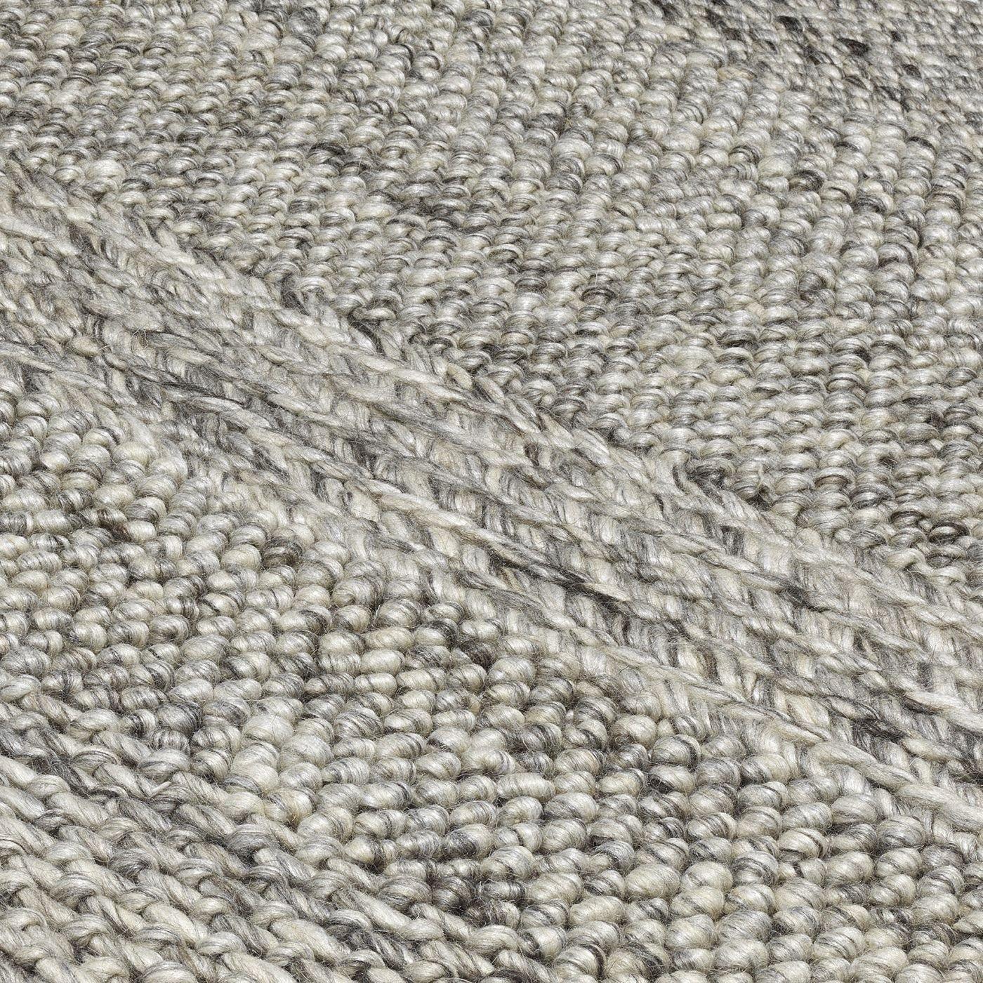 Coast Rug Grey Marl Stripe
