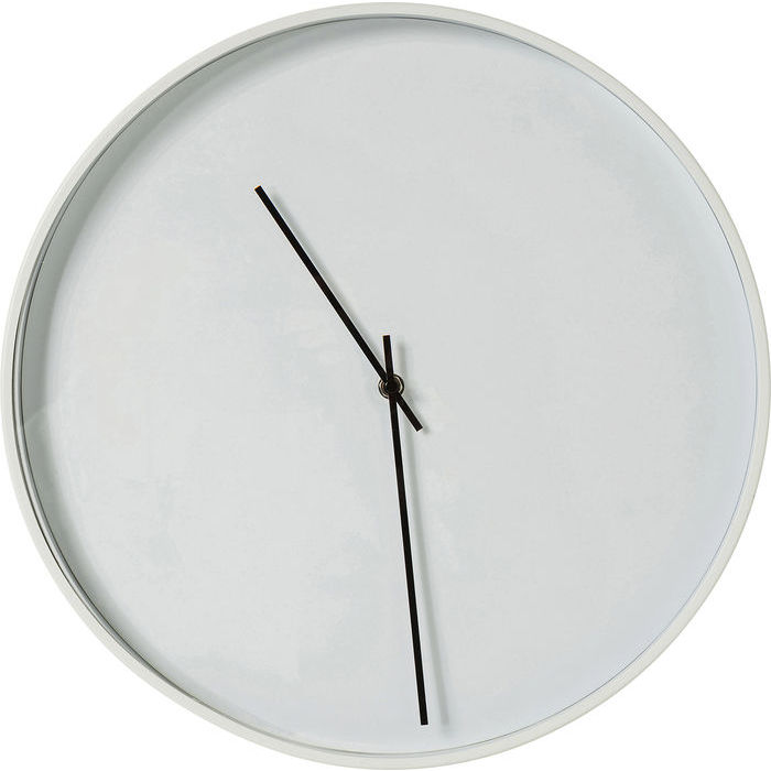 Timeless White Wall Clock 40cm