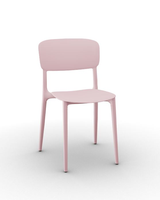 Calligaris Liberty Chair Pale Pink