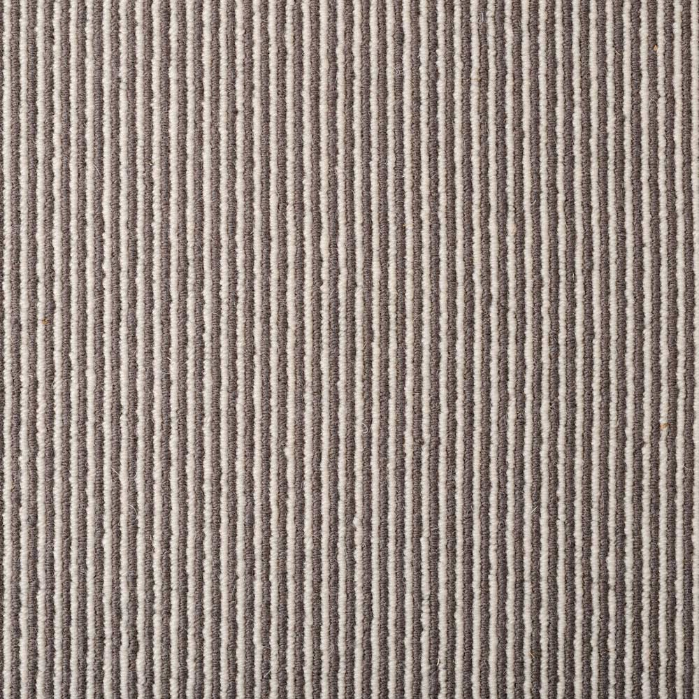 Wool Pinstripe Sable Bone