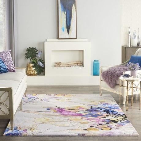 Prismatic Rug PRS20 Grey Lilac Multi