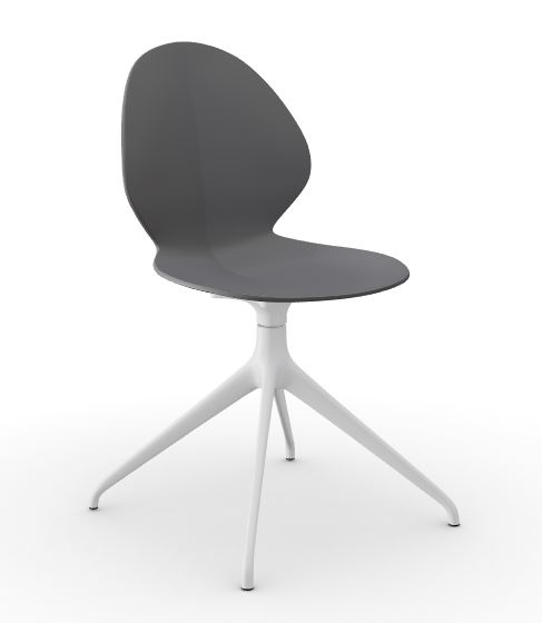 Calligaris Matt Grey Basil Chair