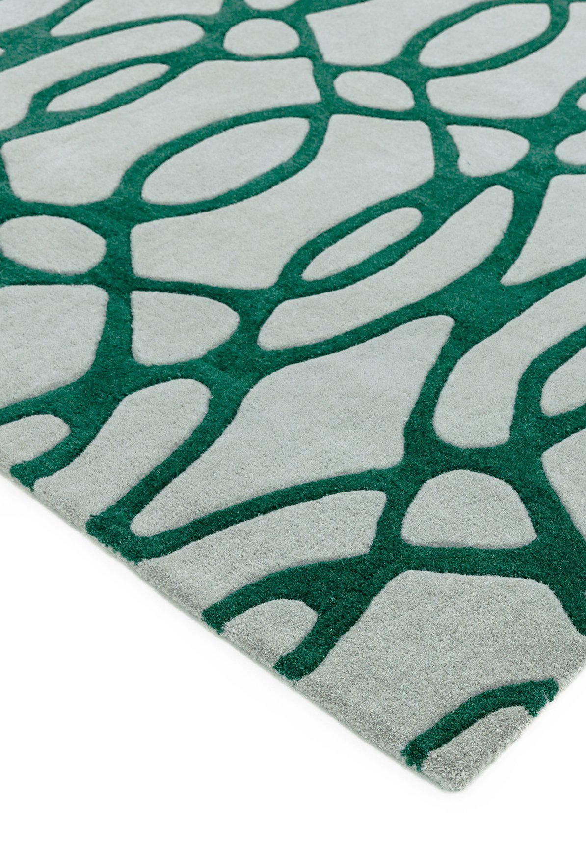 Matrix Rug Wire Green